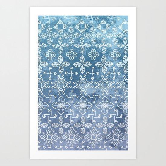 Rhythms of Nature Art Print