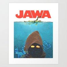 JAWA Art Print