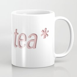 sipping tea Coffee Mug