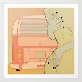 Take me to your van Art Print