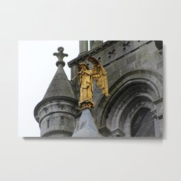 Trumpeting Angel Metal Print