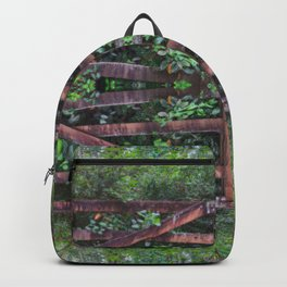 Pixel Mandala by Happy Awesome Studios Backpack