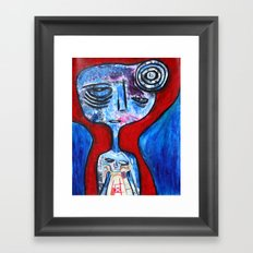 Devotee Framed Art Print