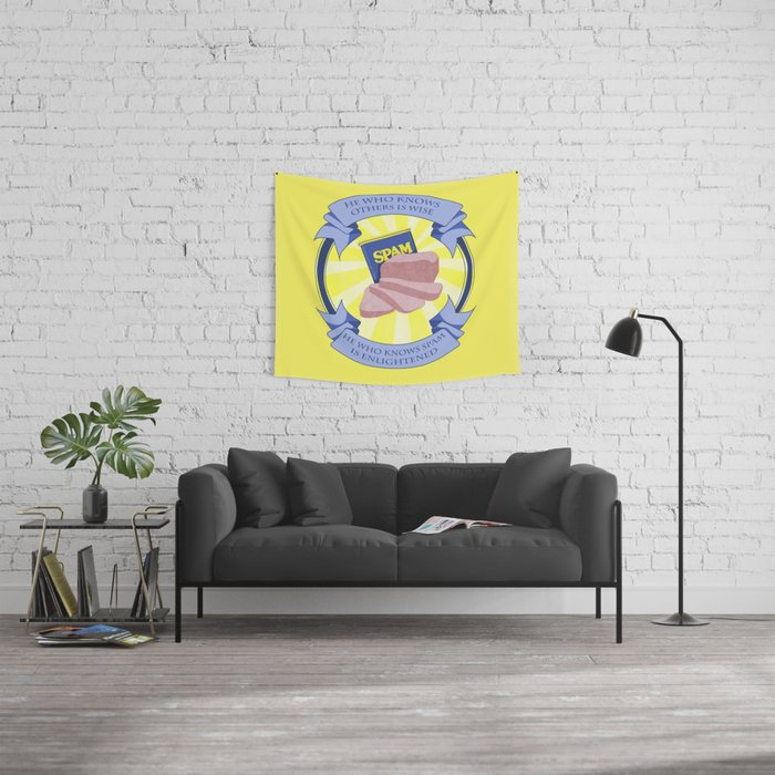 The Spam of Enlightenment Wall Tapestry