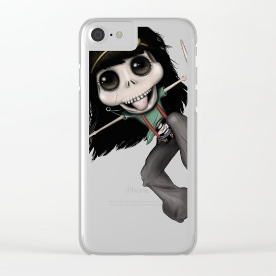 What the Punk?! Clear iPhone Case