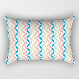 Ordered Peaches by the Sea Rectangular Pillow