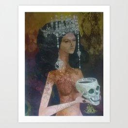 Diamond Donna Art Print