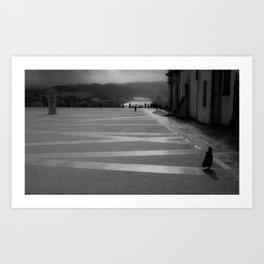 Coimbra University Art Print