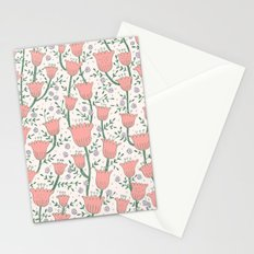 Pastel Flowers Stationery Cards