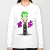 1989 Long Sleeve T-shirts featuring Tim Burton's 1989 B a t m a n Cartoon homage... by beetoons