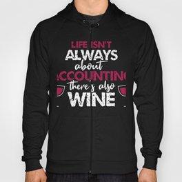 Accountant Wine lover Hoody
