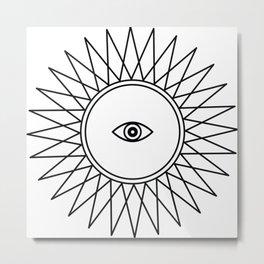 Third Eye - Seeing Eye Metal Print