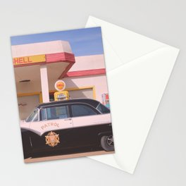 Vintage Car & Service Station 2: Lowell Arizona Stationery Cards