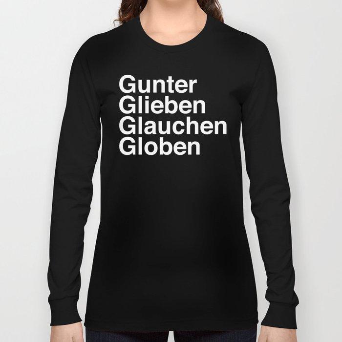 Gunter Glieben Globi Glauchen Manica Lunga T- Scuro rDe1Le3S1