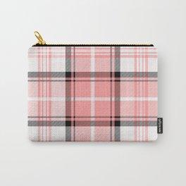 Pink Tartan Carry-All Pouch