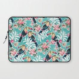 TOUCADISE TOU Tropical Toucans Laptop Sleeve