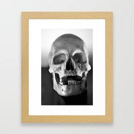Header Framed Art Print