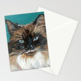 Tipper the Cat Portrait Stationery Cards