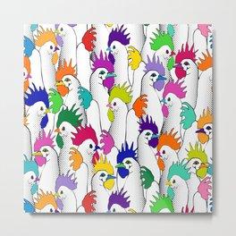 ChickenPOPS Metal Print