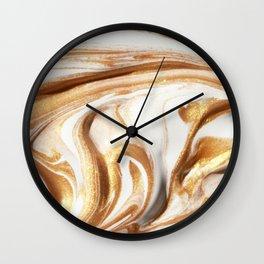 MARBLE CREAM Wall Clock