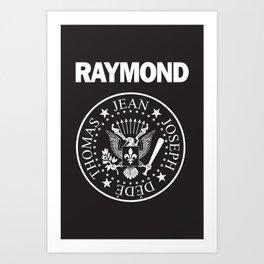 Raymond Art Print