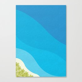 The Minimalist Dream of Freedom Canvas Print