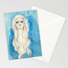 Long Hair Stationery Cards