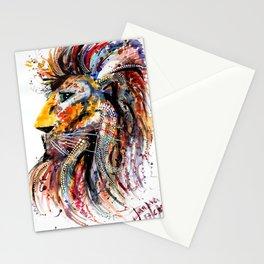 M I G H T Y   L E O Stationery Cards
