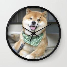 Smiling boy Wall Clock