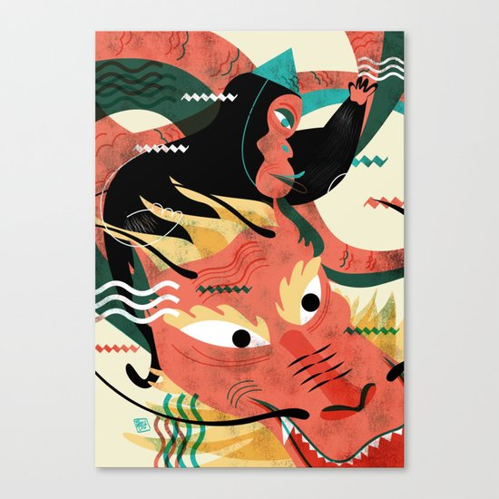 CHINESE NEW YEAR'S EVE Canvas Print