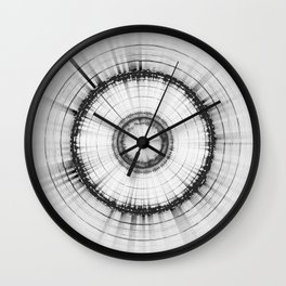 Collage 2 of Earth, Sputnik-1 & Sun Wall Clock