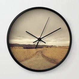 En la senda Wall Clock