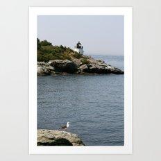 Narragansett Bay II Art Print
