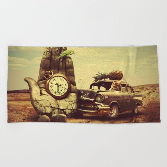 Vintage dreams Beach Towel