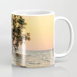Mangrove sunrise, Phang Nga Bay, Thailand Coffee Mug