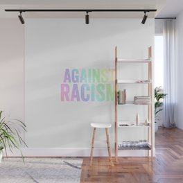 Fight Racism | Antifacists Against Nazis Gift Ideas Wall Mural