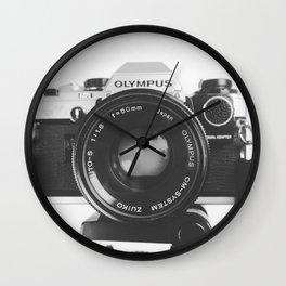Vintage happy snap Wall Clock