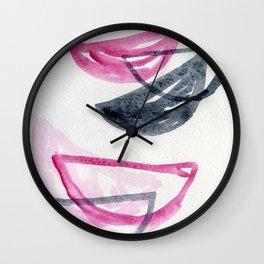 Bowls #3 Wall Clock