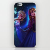 frozen iPhone & iPod Skins featuring frozen by KATIE PAYNE