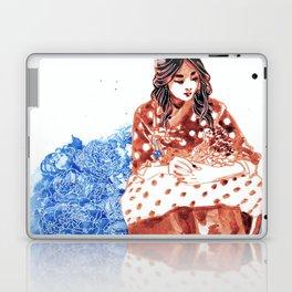 Flowers and Hanbok Laptop & iPad Skin