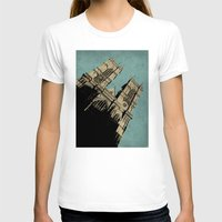 downton abbey T-shirts featuring Westminster Abbey by sinonelineman