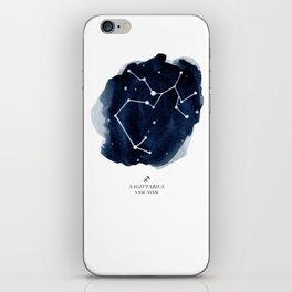 Zodiac Star Constellation - Sagittarius iPhone Skin