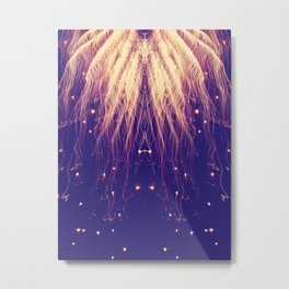 Fire Hair Metal Print