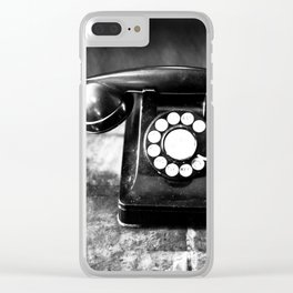 Oh, Hello Clear iPhone Case