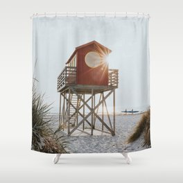 Summer at the beach - Landscape and Nature Photography Shower Curtain