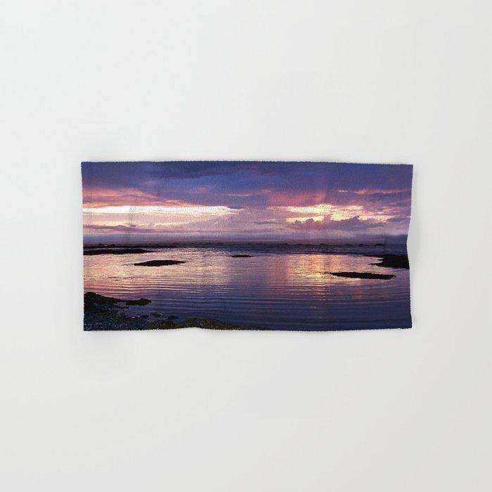 Sunset Split Hand & Bath Towel