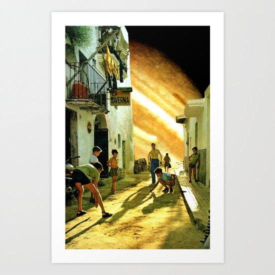 La taverna... Art Print