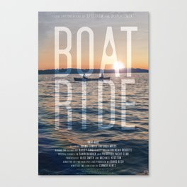 BOAT RIDE - Theatrical One-Sheet Canvas Print