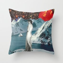 Brisk Nightfall Throw Pillow