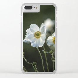 Graceful Anemones, No. 2 Clear iPhone Case